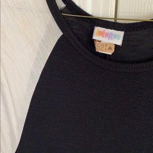 LuLaRoe Dresses - Black and white Carly dress